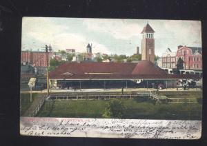 ALLENTOWN PENNSYLVANIA RAILROAD DEPOT TRAIN STATION VINTAGE