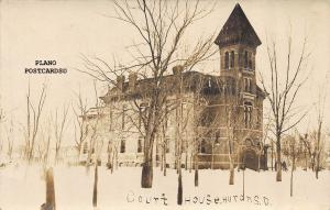 HURON, SOUTH DAKOTA COURT HOUSE RPPC REAL PHOTO POSTCARD