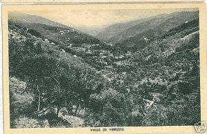 CARTOLINA d'Epoca: VALLE DI VEREZZO - SAVONA