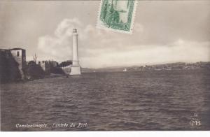 CONSTANTINOPLE ( Istanbul, Turkey ) L' entree du Port, 00-10s ; Lighthouse