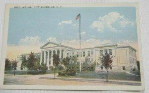 Vintage Postcard, New Rochelle Highschool New York 1908