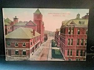 Postcard RPPC  John Hopkins University, Baltimore, MD    Z5