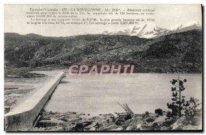 Old Postcard The Bouillouse artificial Reservoir