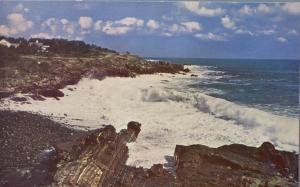 Breakers and Surf along Rugged Atlantic Coast, Maine