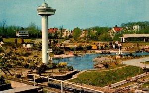 Netherlands Den Haag Miniature City Madurodam The Euro Mast