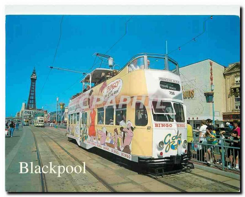 CPM Blackpool Tower and Tram
