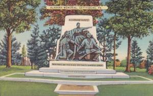 Pennsylvania Gettysburg Alabama Memorial