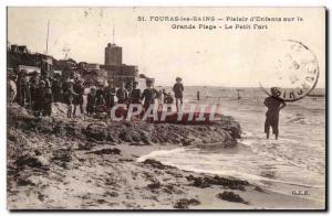 Fouras - baths - Plaisir d & # 39 Children on the Grande Plage - Little Fort ...