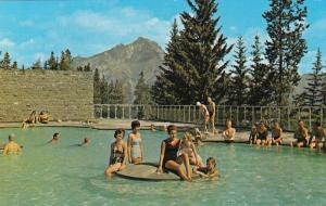 Swimming Pool, Banff National Park, BANFF, Alberta, Canada, 40-60's