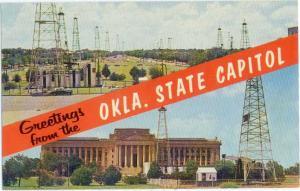 Greetings from Okla. State Capital Oklahome City OK