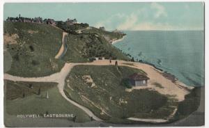 Sussex; Holywell, Eastbourne PPC From Combine Series, Unposted, c 1910's