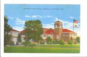 Marysville High School, California, 30-40s