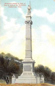 Chattanooga Tennessee Mt Battlefield Monument Antique Postcard K39952