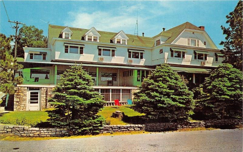 Ephraim Wisconsin Anderson Hotel Cottages Opened 1899 Overlooking Eagle Harbor