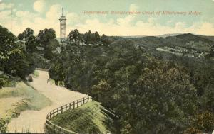 Government Boulevard - Crest of Missionary Ridge TN, Tennessee - DB