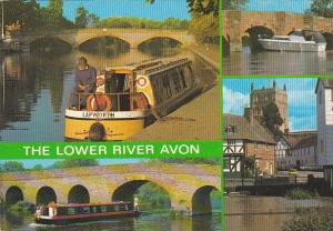 England The Lower River Avon Multi View