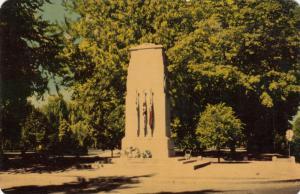 LONDON , Ontario, Canada, 50-60s ; Cenotaph , Victoria Park