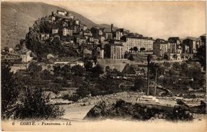 CPA CORSE CORTE - Panorama (711564)