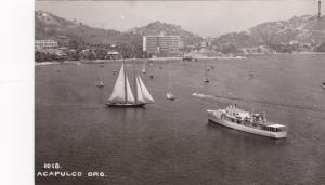 RP; ACAPULCO GRO. Mexico, 40-50s; Harbor with boats