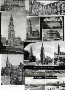 Netherlands Groningen Postcard lot With Lots of RPPC 31 Pieces   01.03
