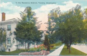 In the Residence District of Tacoma WA, Washington - DB