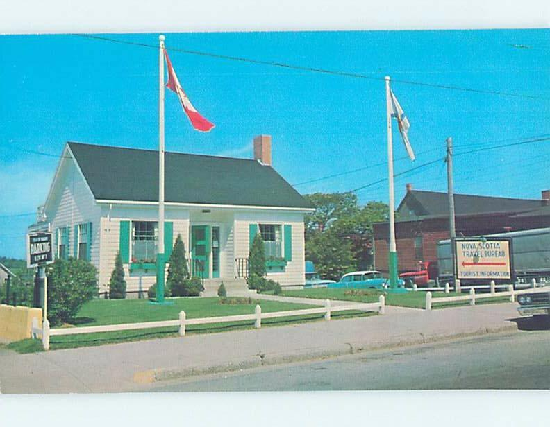 Unused Pre-1980 TRAVEL BUREAU BUILDING Yarmouth Nova Scotia NS F9967
