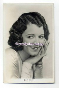 b4470 - Film Actress - Janet Gaynor - postcard