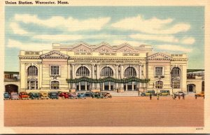 Massachusetts Worcester Union Station