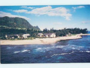 Unused Pre-1980 RESORT SCENE Hanalei - Kauai Hawaii HI c4373