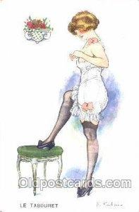 Series No. 27 - 135 F. Fabiano, (France ) Artist Signed Unused light crease o...