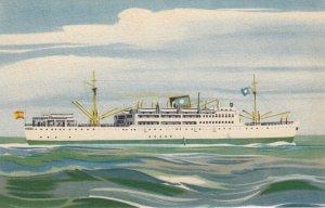 Compania Trasatlantica Espanola M/N Virginia de Churruca , 1930s