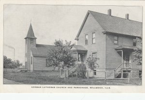 BELLWOOD , Illinois, 1900-10s , German Lutheran Church