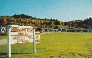 Vermont Mountain Mansfield The Mountain Road Motel