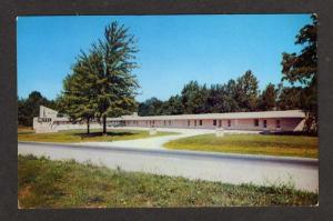 IN View of Walker Motel CLOVERDALE INDIANA Postcard IND