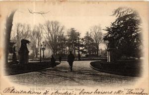 CPA  Toulouse - L'Entrée du Grand-Rond    (582630)