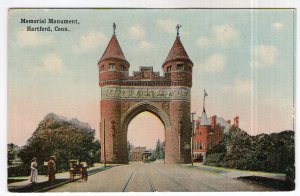 Hartford, Conn, Memorial Monument