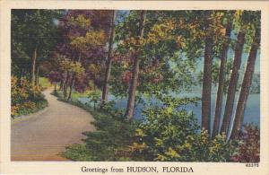 Greetings From Hudson Florida