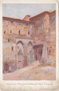 AS, Grande Cour d'Honneur Du Palais Des Papes, A Avignon (Vaucluse), France, ...