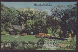 Little Norway Blue Mounds WI Postcard 4321