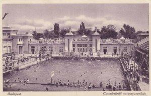 BUDAPEST , Hungary, 1921 ; Csaszarfurdo versenyuszodaja/ Swimming Pool