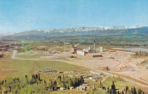 Canada North Western Pulp and Power Mill Hinton Alberta