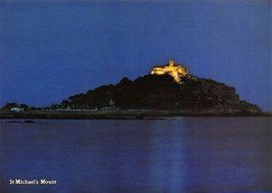 Cornwall Postcard St Michaels Mount, Marazion by Murray King EK8