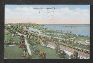 Juneau Park,Milwaukee,WI Postcard