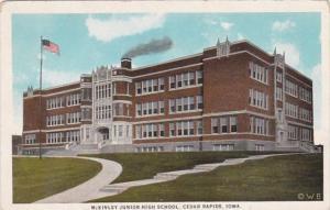 Iowa Cedar Rapids McKinley Junior High School 1925