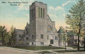 NORMAL , Illinois, 1913; First Christian Church