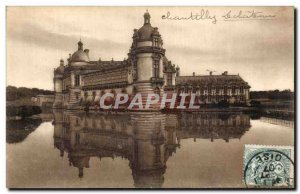 Old Postcard Chantilly Chateau