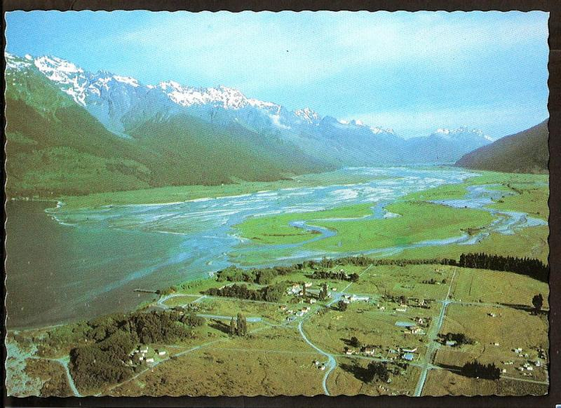 NEW ZEALAND POSTCARD UNUSED GLENORCHY-LAKE WAKATIPU