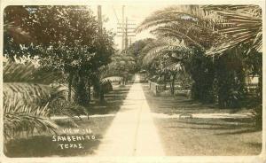 1920s RPPC Photo Postcard View Sanbenito Texas 2219