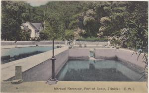 TRINIDAD, B.W.I., 00-10s Maraval Reservoir, Port of Spain