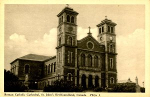 Canada - New Foundland, St. John's. Roman Catholic Cathedral